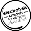 Electrolysis offers FDA approved permanence for all skin and hair types